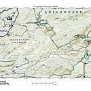 Moose River Map West