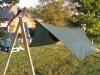 HH Hex Tarp with Explorer underneath by BillyBob58 in Hammocks