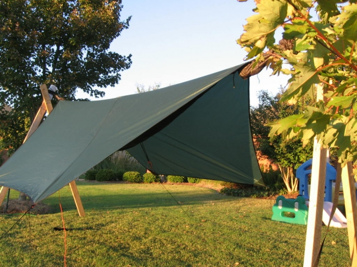HH Hex Tarp with Explorer underneath3