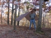 SilNylon HH Hex pitched high by BillyBob58 in Hammocks