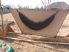 HH Sil Hex over PeaPod with storm pitch by BillyBob58 in Tarps