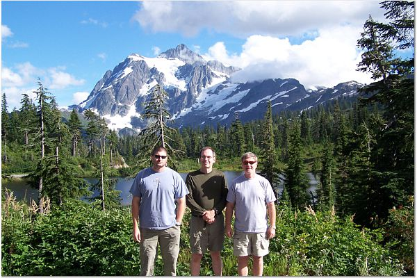 Bill and friends at Mt.Shuksan