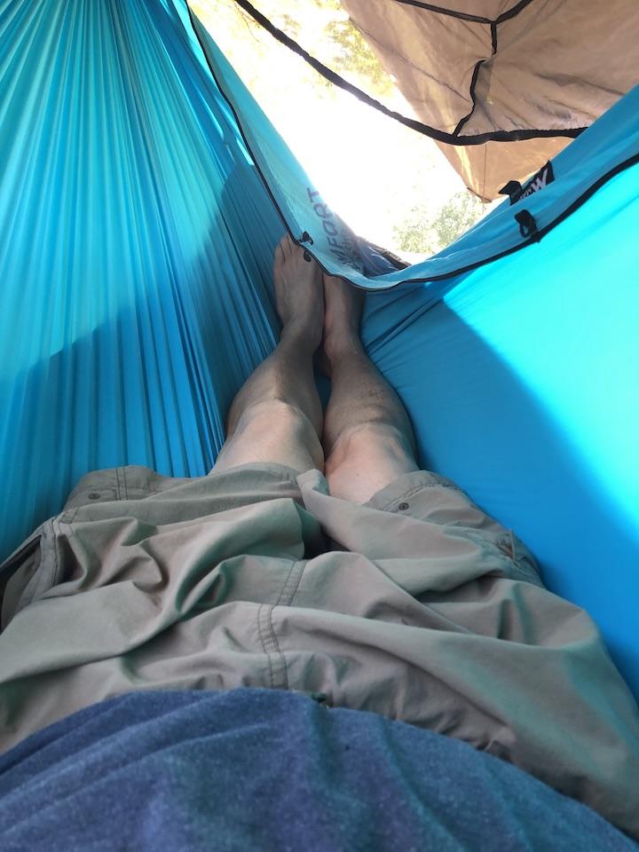 Inferno UQ on Ninox hammock