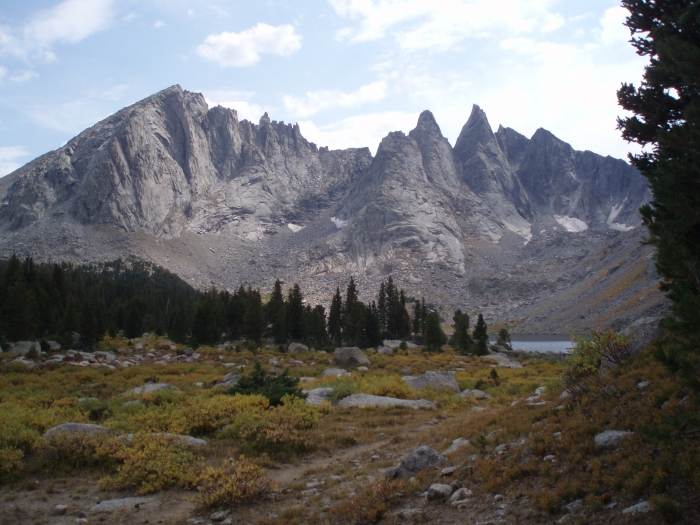 In Wyoming's Wind River Mtns