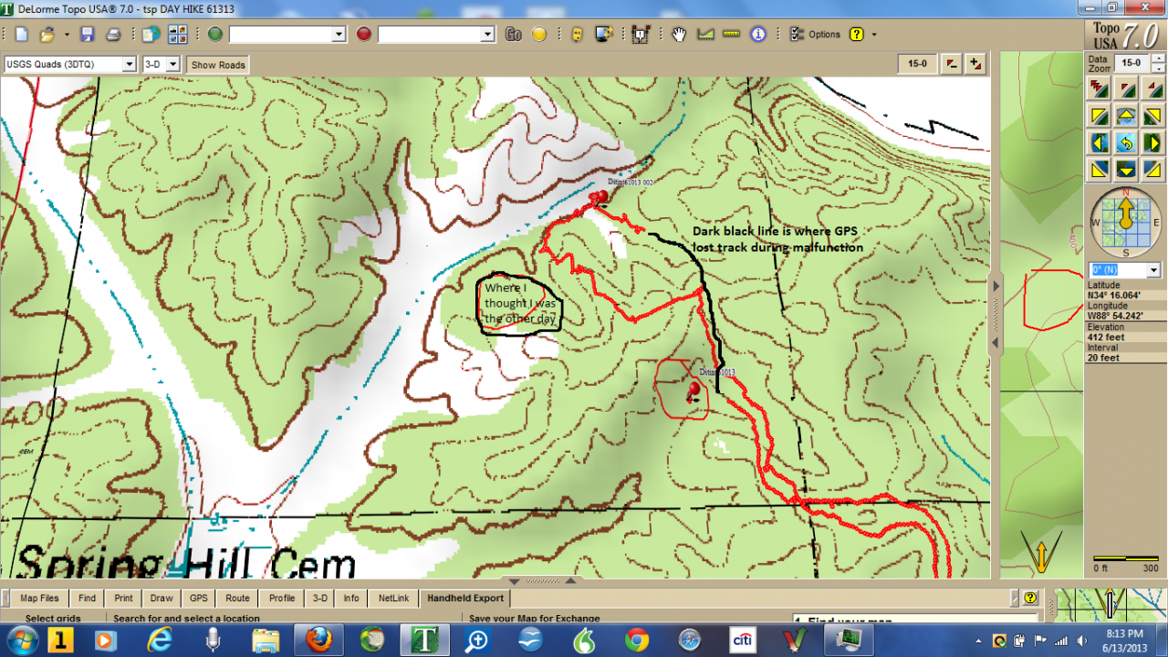 Map-compass Hike 61313