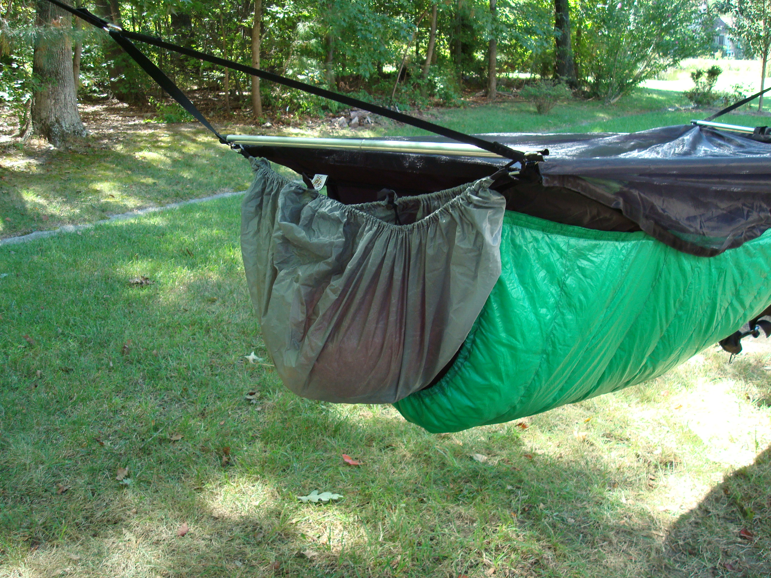 Medium image of jeff u0027s gear hammock pack cover on jrb bmbh