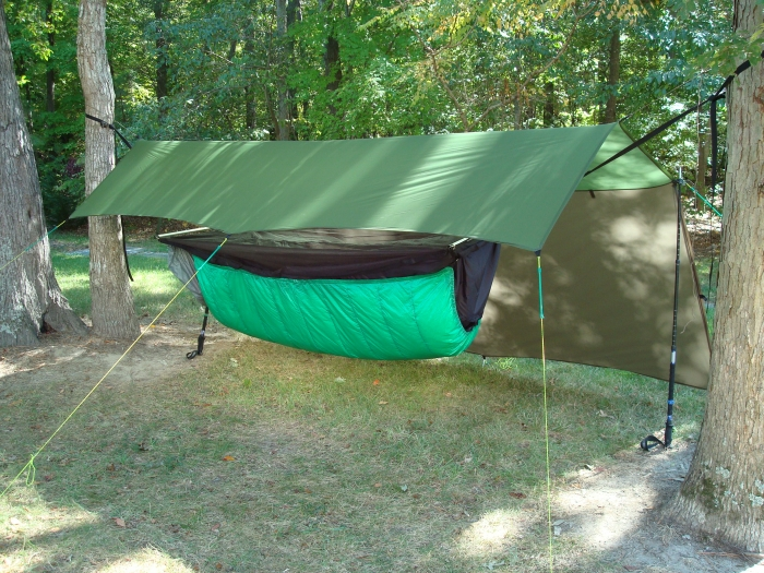JRB 11 x 10 Cat Tarp over a BMBH