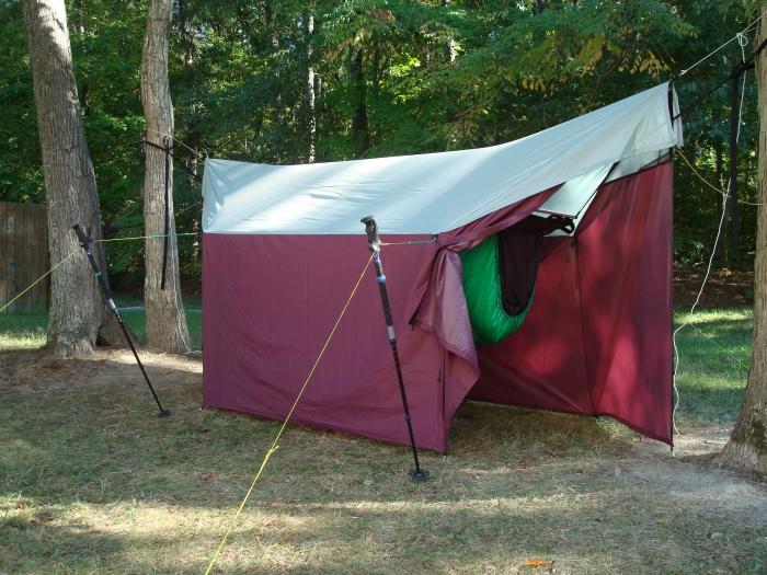 JRB Fire Retardant Hammock Tarp Tent