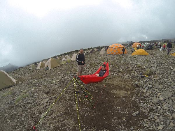 Hammocking On Kilimanjaro At 4,000m