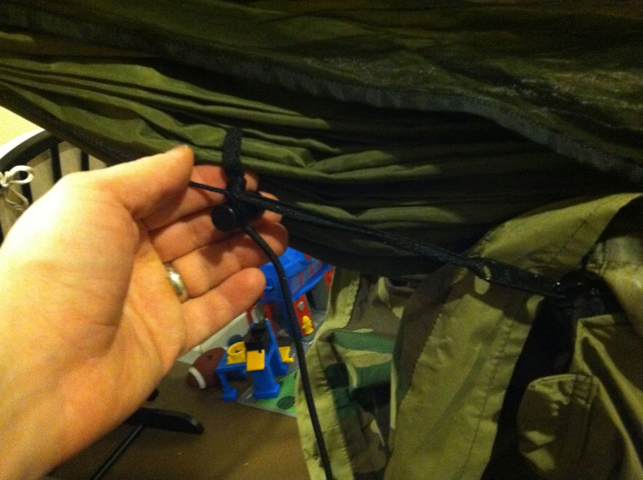 Bivy Head Attachment