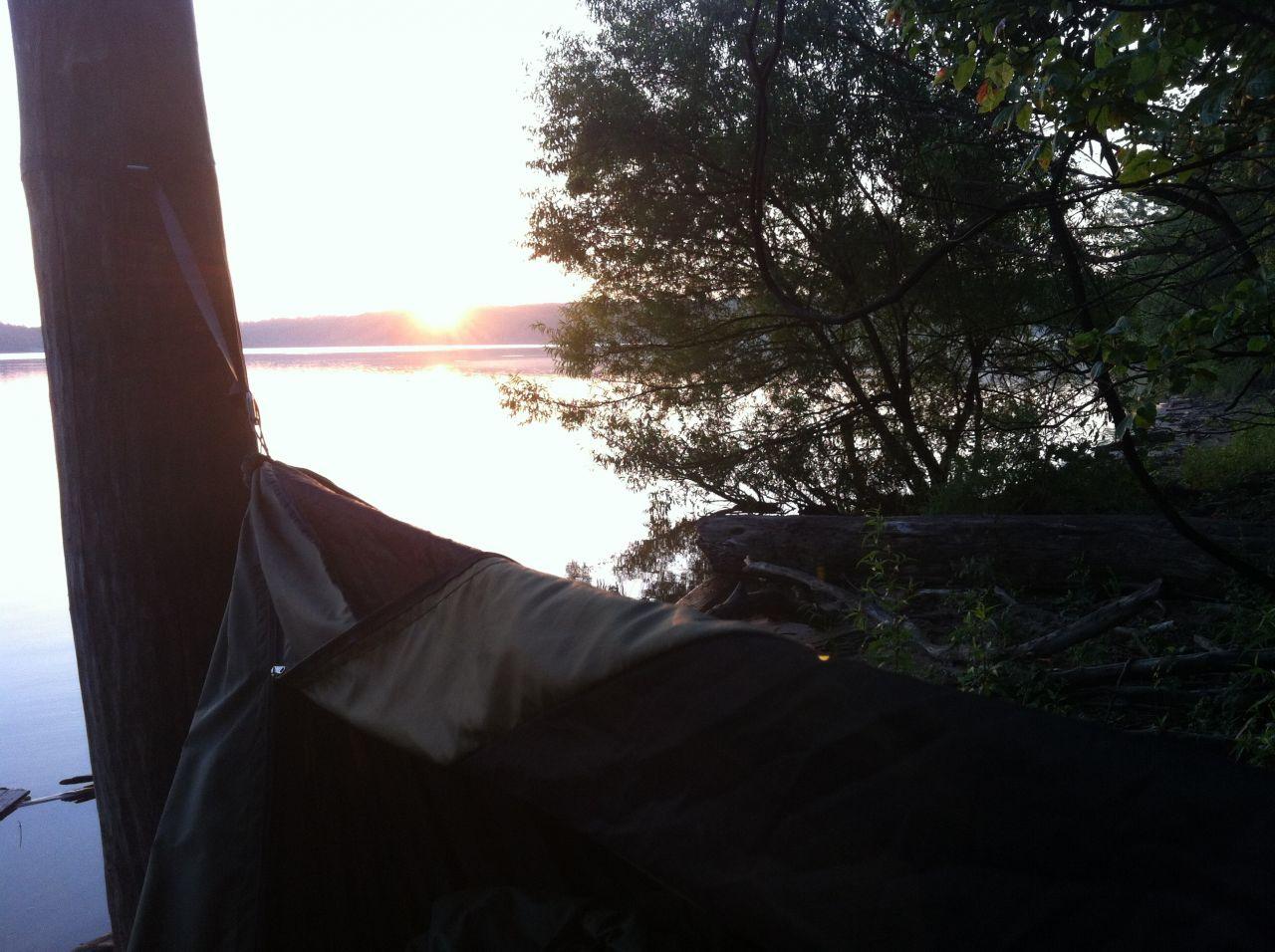 Sun Rise Over East Fork Lake