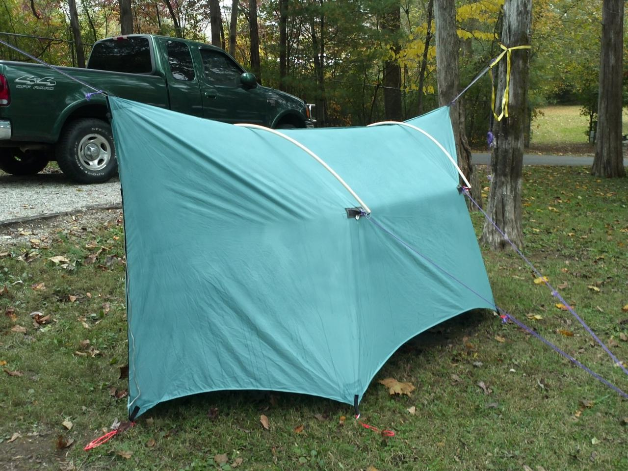 Diy Winter Dream Tarp With Cpvc Pole Mod