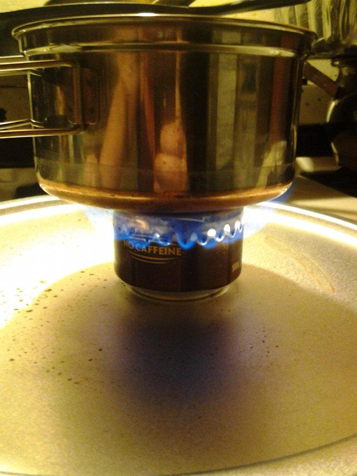 Soda Can Stove 5