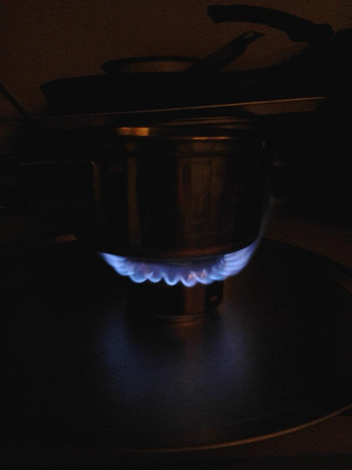 Soda Can Stove 6