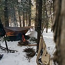February Camp at White Lake with Woolman by larrybourgeois in Hammock Landscapes