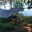 Island camping on White Lake Ontario on the 21st of May week-end, 2016.