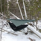 January snow camp'n 2015 by larrybourgeois in Hammock Landscapes