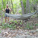 100% Polyester, DIY gathered end hammock by larrybourgeois in Homemade gear