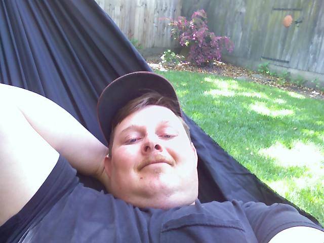Lounging In My Backyard
