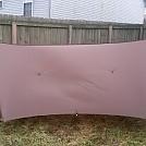 12ft Winter tarp for Bla1Z3 by Boston in Tarps
