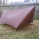 12ft Winter tarp for Bla1Z3 by Boston in Tarps