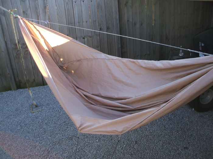 Homemade Bb Hammock