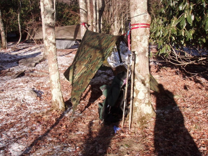 1st annual winter camp-out w/ hammockfourms