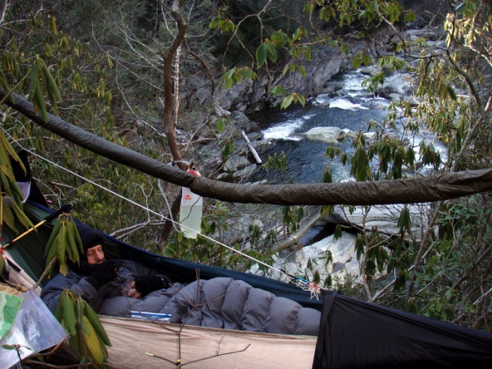cliffside hammocks