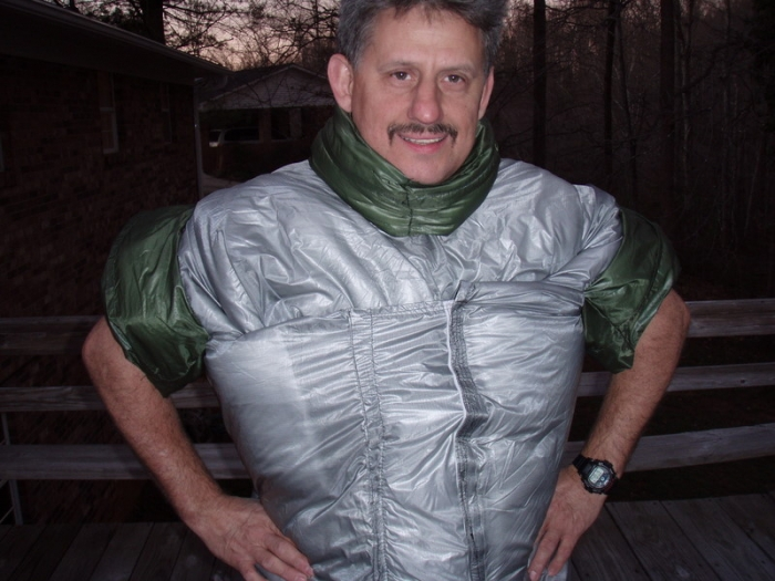 slowhike`s 1st wearable quilt - Hammock Forums Gallery : wearable quilt - Adamdwight.com