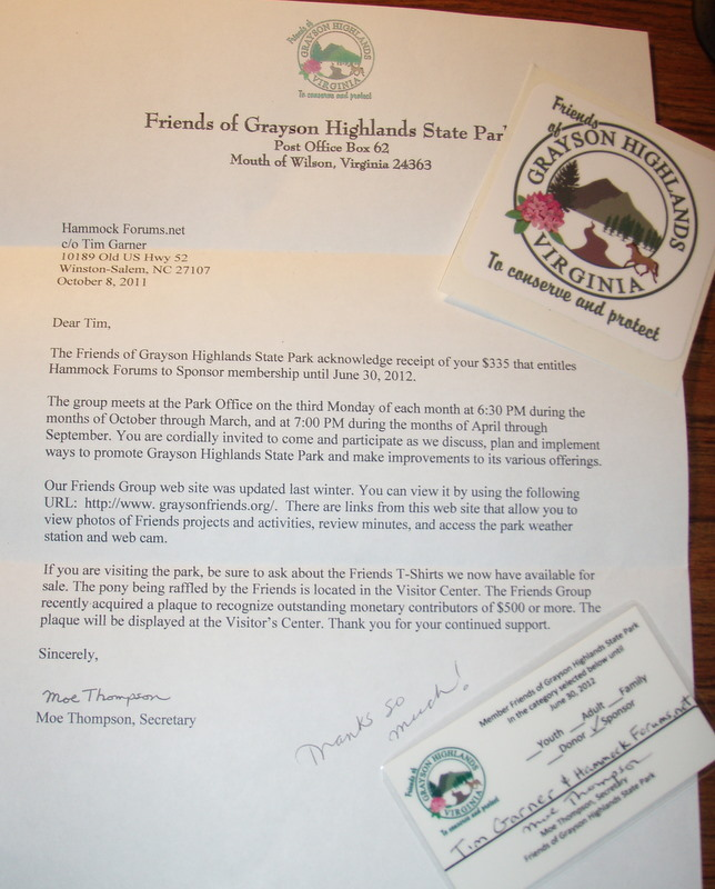 Friends Of Grayson Highlands State Park