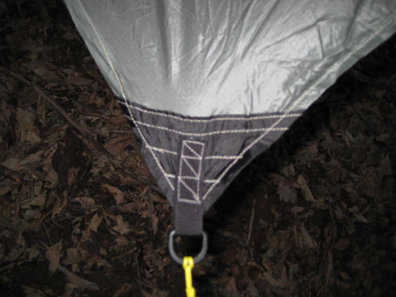 1.1 Sil Hex Tarp - Tie Outs