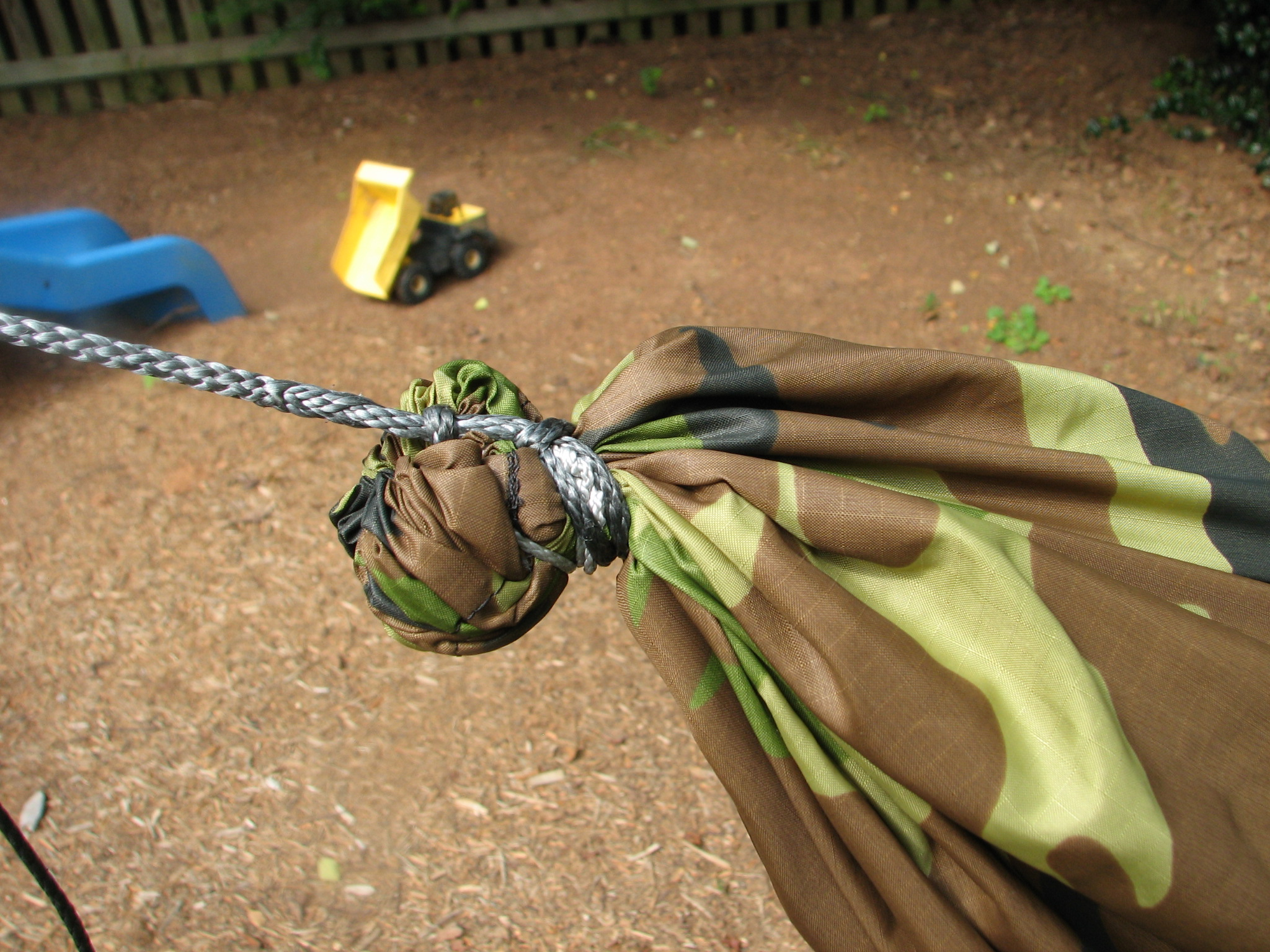 Medium image of diy gathered end asymetrical hammock with