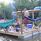 floating hammock raft