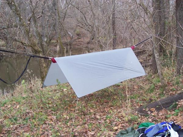 Hennessy Hammock with 6x9 silnylon tarp