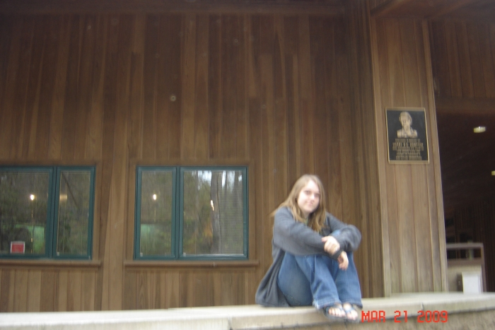 Me At The Welcome Center