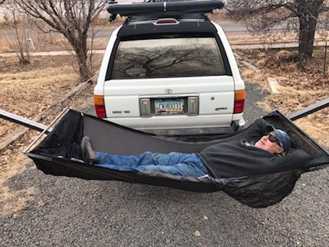 Receiver Hitch Hammock Stand