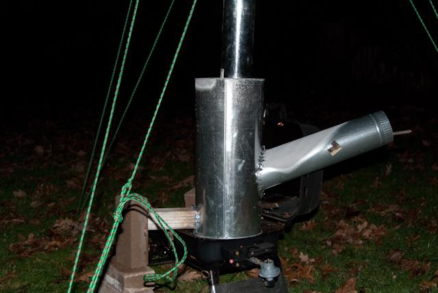 Rocket Tent Stove