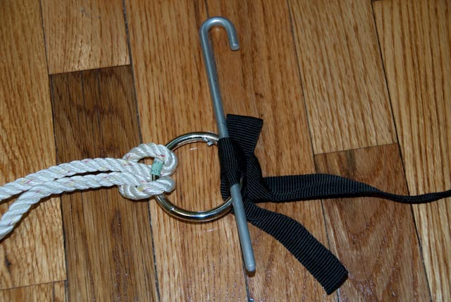Quick Release Ring Suspension/ Ring & Peg