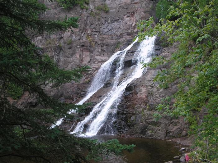 Caribou Falls, SHT