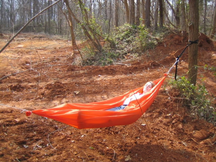 Homemade HH Style Hammock w/ Ring Supports
