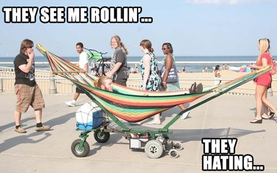 Now Here Is A Hammock Stand