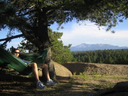 Warbonnet hammock near Pike's Peak