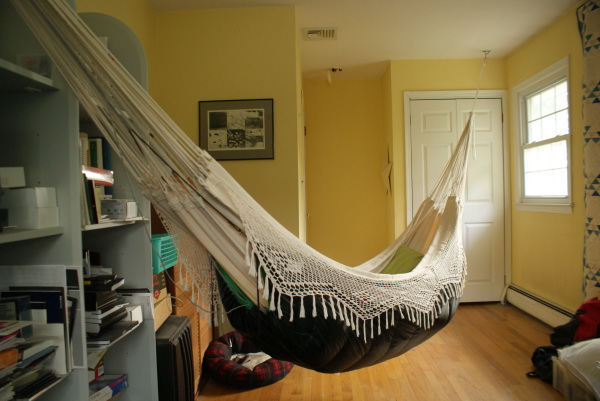 Hanging in home page 4 for How to install a hanging hammock chair indoors