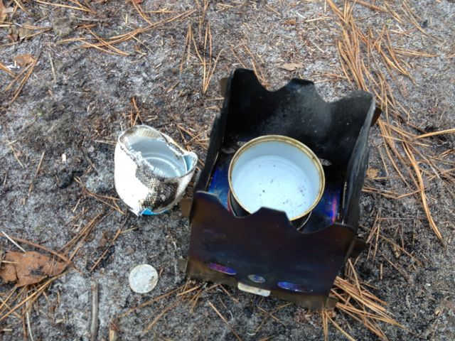Exploding Alcohol Stove