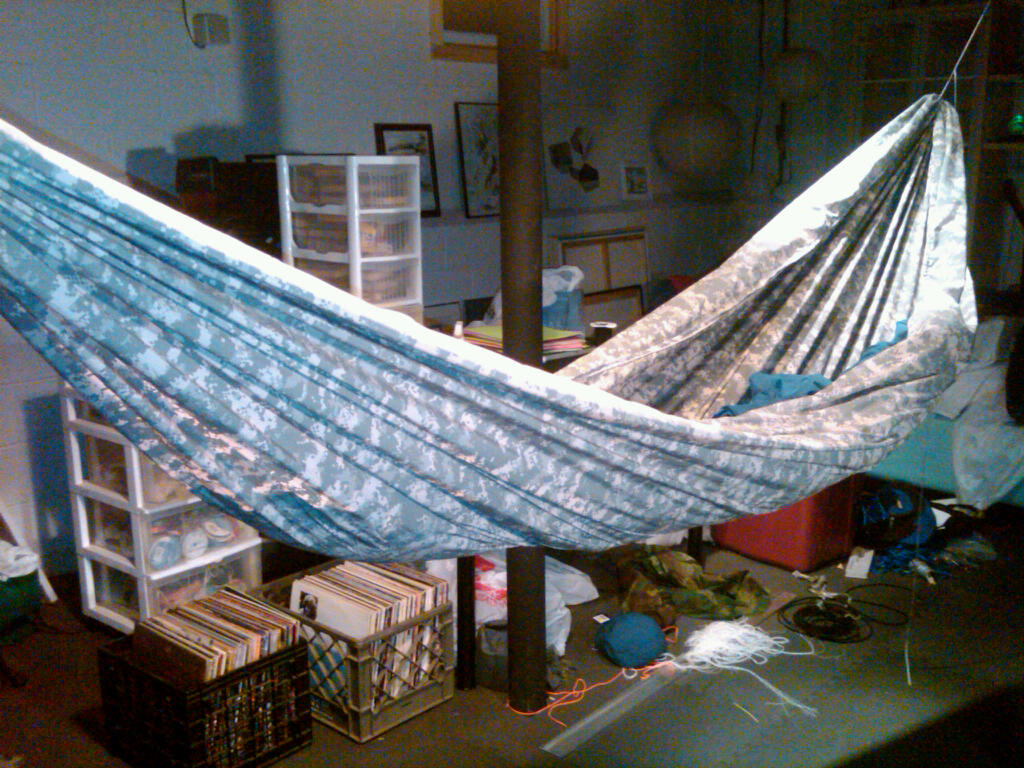 Gathered End Hammock