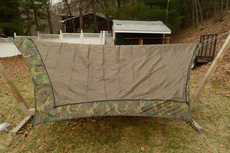 Maccat Deluxe And Diy Camo Tarp