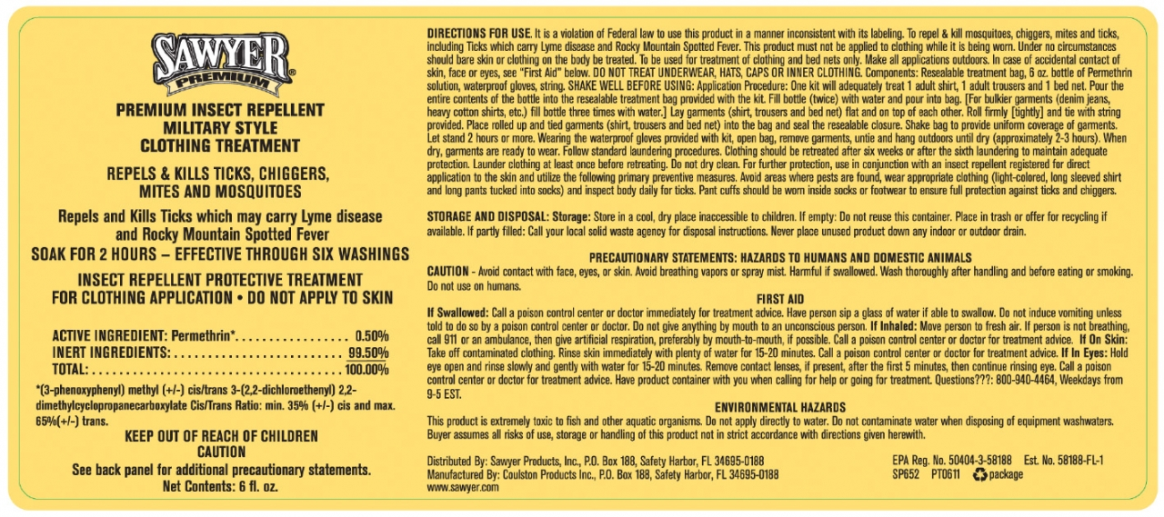 Sawyer Permethrin Label
