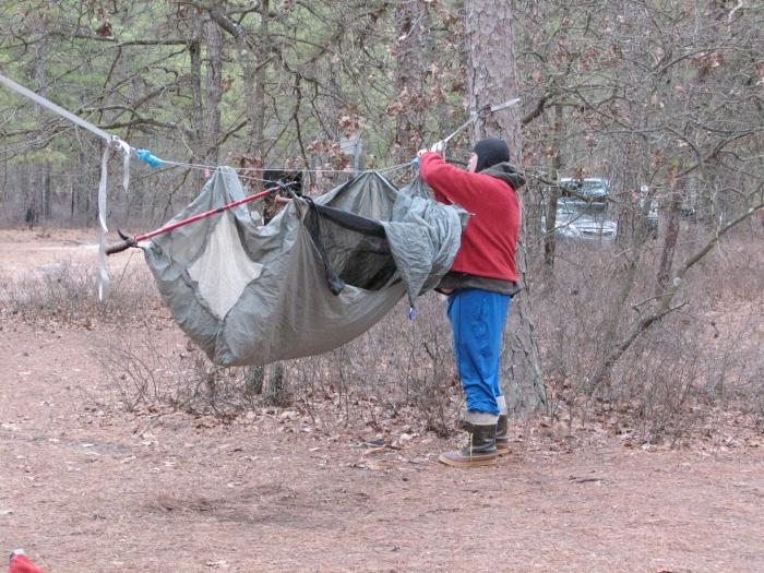 Pine Barrens Winter Hang
