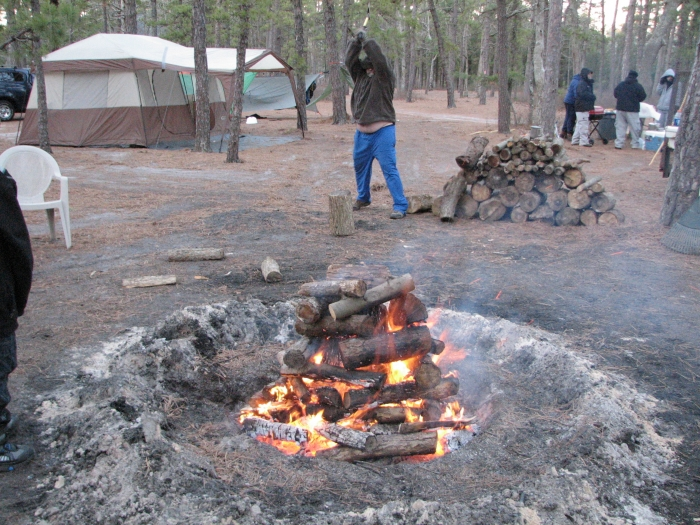 Pine Barrens Winter Hang