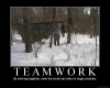Teamwork by Iafte in Faces